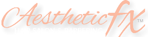 Aesthetic FX Hair Salon Logo